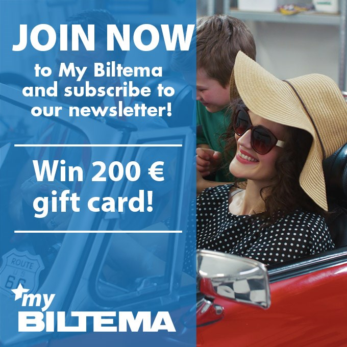 Join My Biltema and participate in the draw!